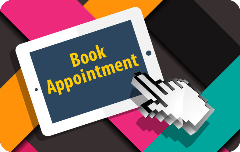 Book appointment at store directly from website